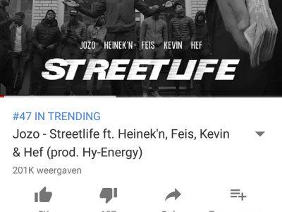 'Streetlife' trending op YouTube!