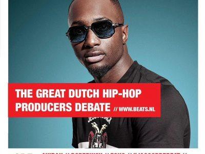 Dopebwoy bij The Great Dutch hip hop debate