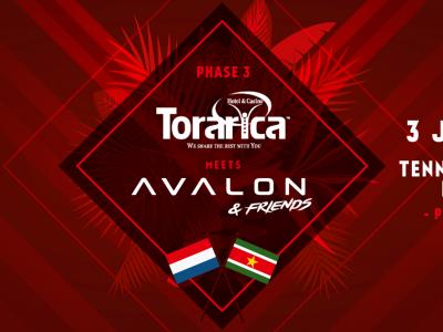 F1rstman bij Torarica meets Avalon & Friends