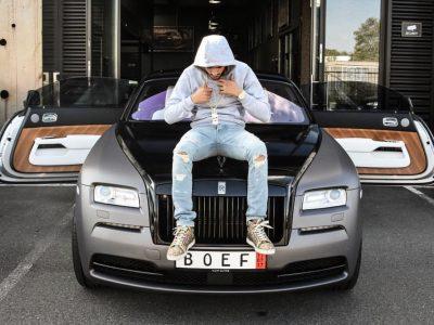 Boef koopt Rolls Royce ?