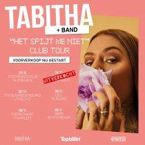 """Tabitha haar """"Het Spijt Me Niet"""" club tour gaat hard"""