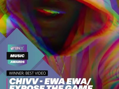 Chivv wint FunX Music Award