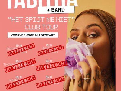 'Het Spijt Me Niet' tour uitverkocht!