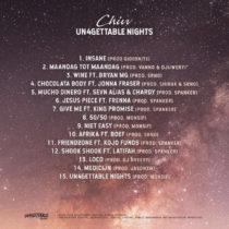 """Chivv  """"Un4gettable Nights""""."""